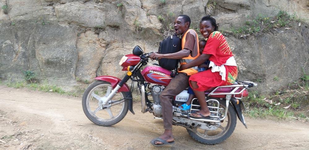 Bodaboda Motorräder